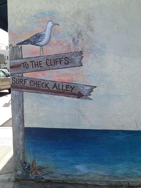Seagull beach mural