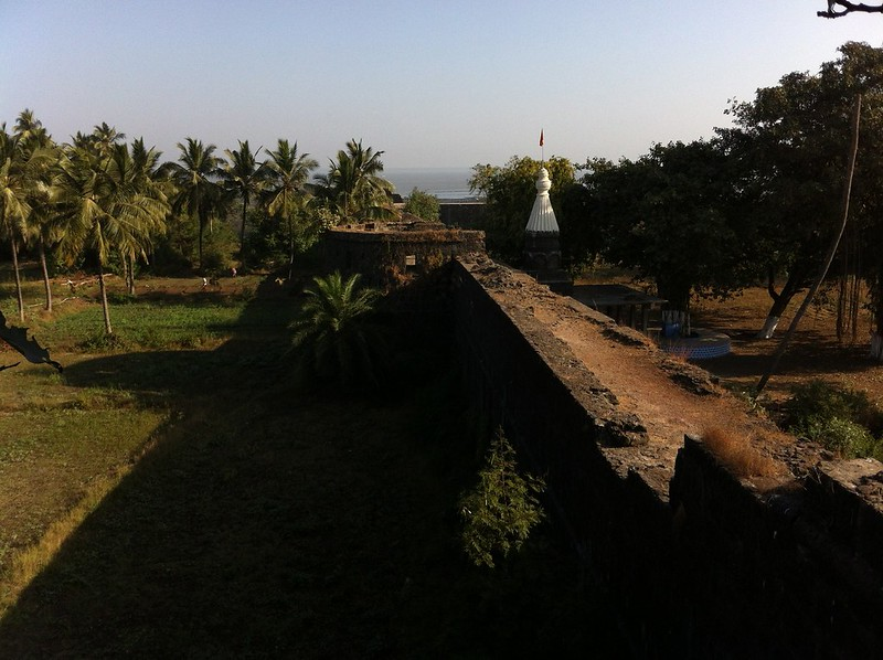 Temple in Arnala fort