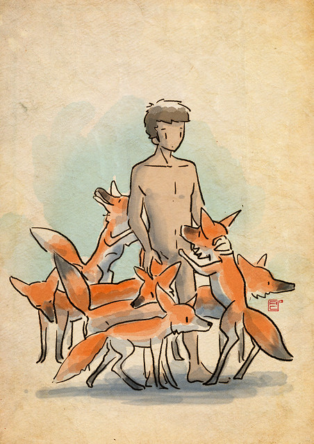 foxes in my mind