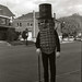 Uncle Bob Dressed as Mr. Peanut, 1953 by Roadsidepictures