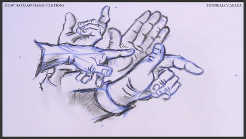 learn how to draw hand positions 020