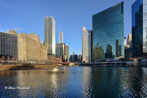 urban chicago reflections chicagoriver nikon20mmf28 nikond800 lastlightofaday