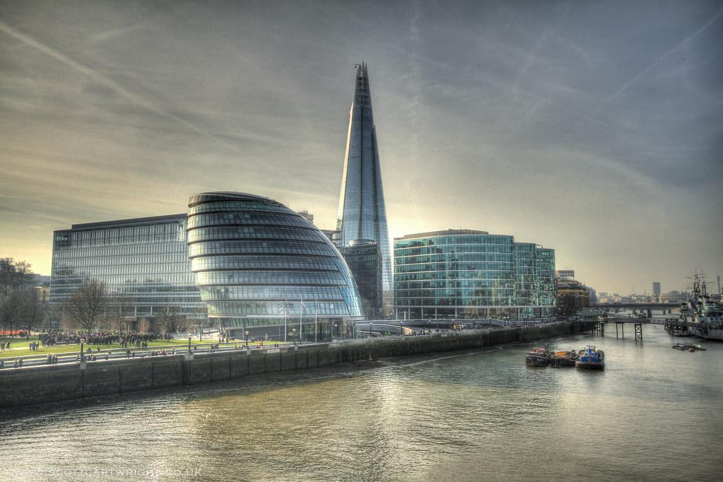Londons Glass Buildings