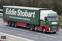 Volvo FH 6x2 Tractor - PX11 BYH - Beryl Marjorie - Eddie Stobart - M1 J10 Luton - Steven Gray - IMG_2448