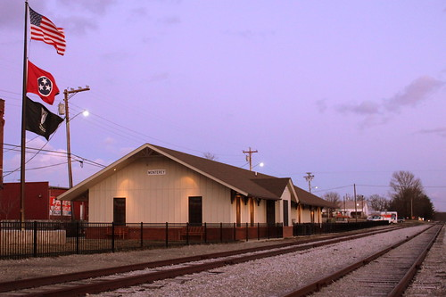 Monterey Depot Museum at Dusk