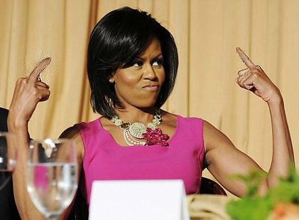Michelle Obama's Right to Bare Arms Shall Not Be Infringed