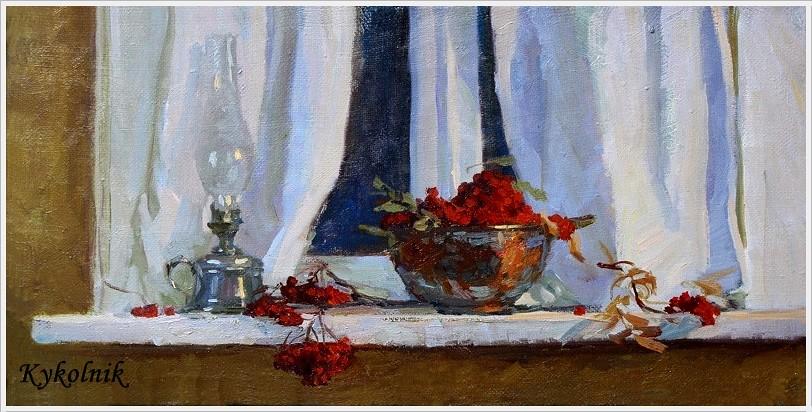 Калашникова Ольга Викторовна (Россия, 1957) «Кончилась осень» 2010
