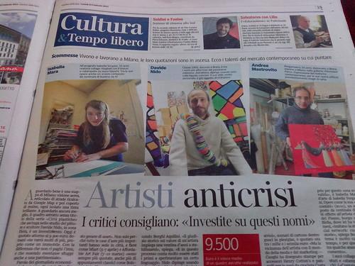 Artisti Anticrisi, le scommesse... by Ylbert Durishti