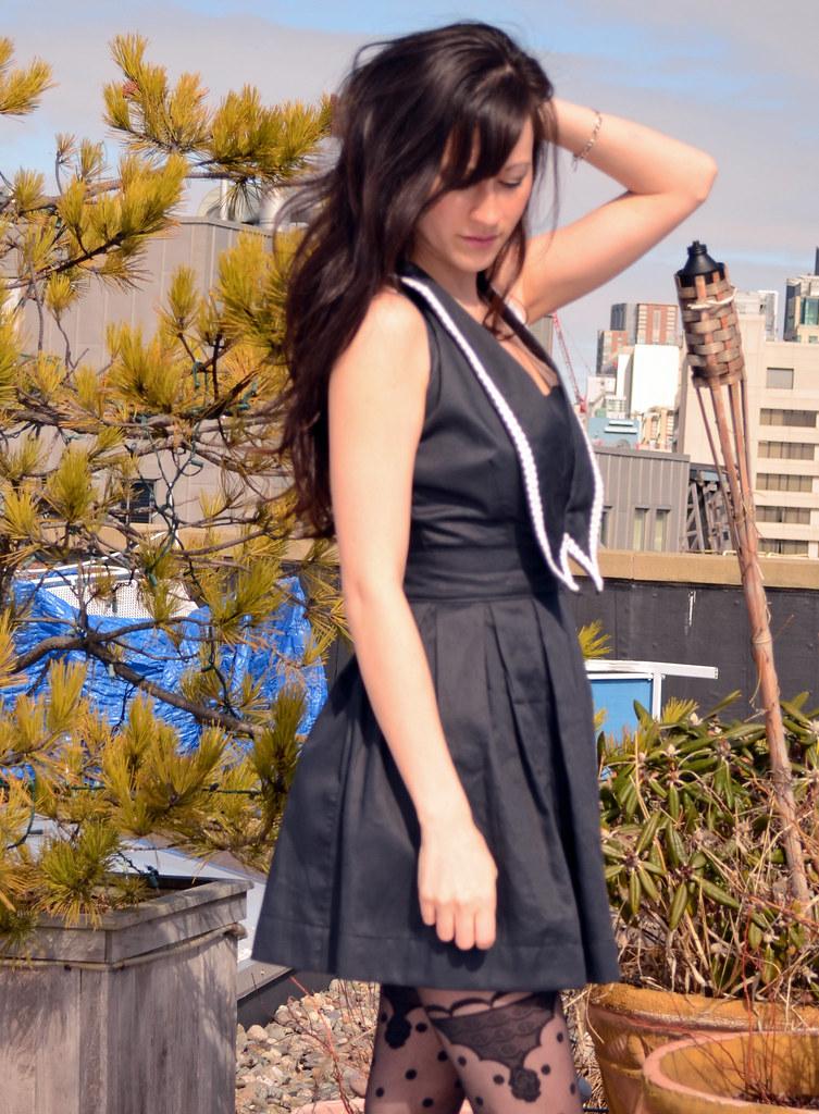 Chelsea collar dress