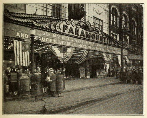 Paramount Theatre, Youngstown, Ohio in 1930