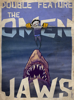 Double Feature: The Omen vs Jaws