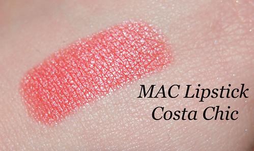 Belle's Beauty Blog: MAC Lipstick in Costa Chic