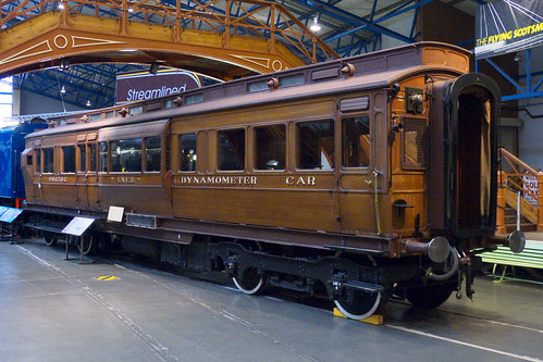 20120926 048 NRM York. NER Clarestory Dynamometer Car 902502, Built Darlington 1906. Former Numbers 3591, 23591.  Former Departmental Number DE902502