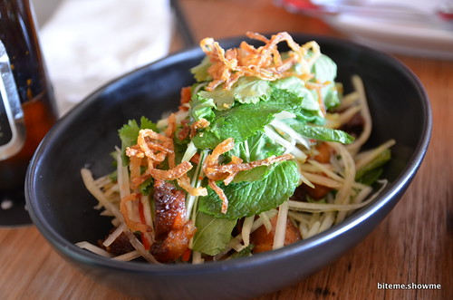 Chi Chi - Braised Pork Belly with Green Papaya Salad