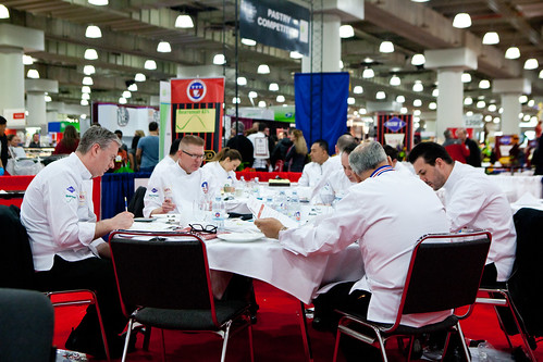 The Bonbon Judging Panel with Chef Johnny Iuzzini (far right)