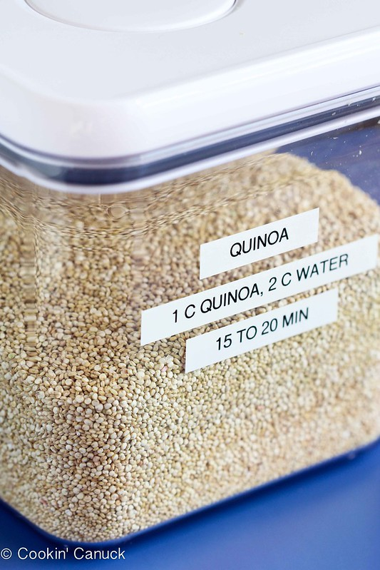 This tutorial on How to Freeze Quinoa will change your cooking life! Keep this versatile grain on hand in the freezer for quick salad, soups & side dishes.