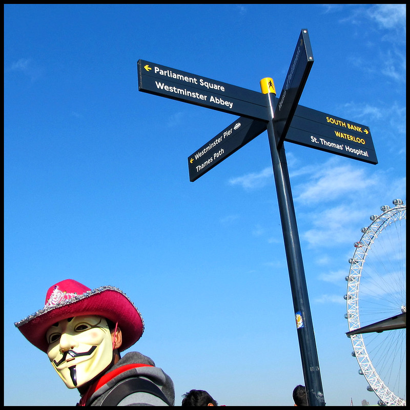 guy fawkes on holiday
