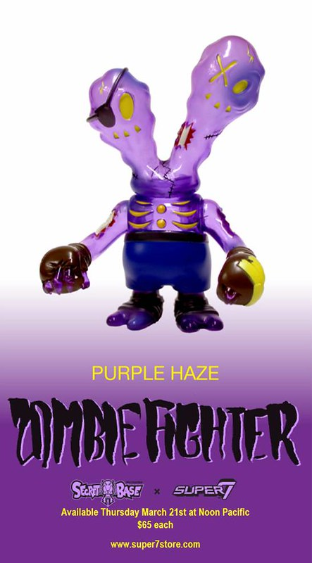 MARCH 21st - ZOMBIEFIGHTER PURPLE HAZE!