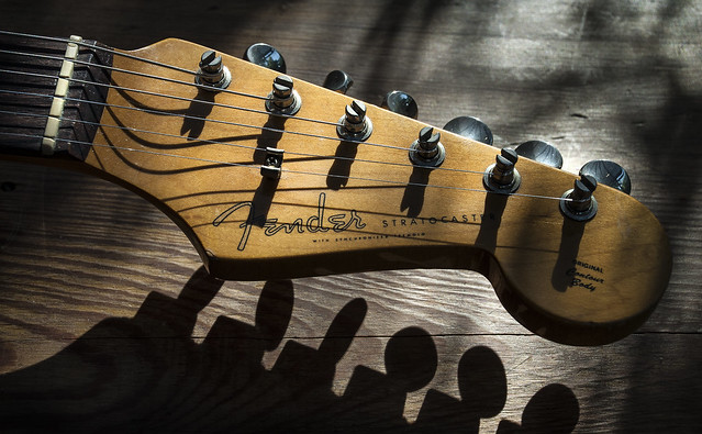 Photo:Fender headstock By keith ellwood