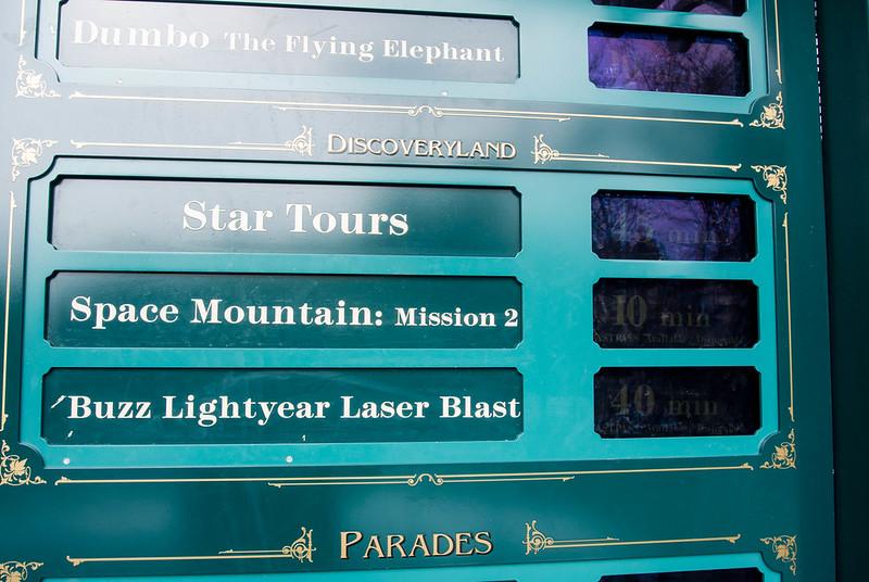 Disneyland Paris Wait Times
