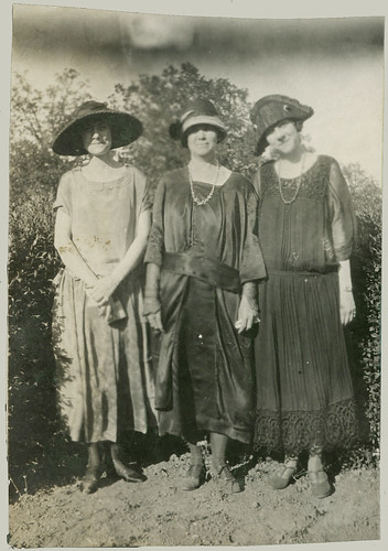 Three women in fashion