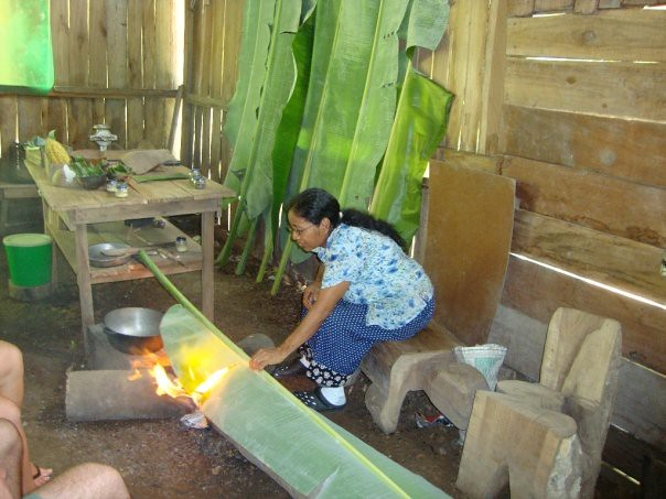 Petronila makes chocolate, one of our collaborators