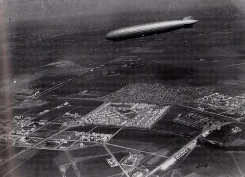 Vista aérea Nervión 1918