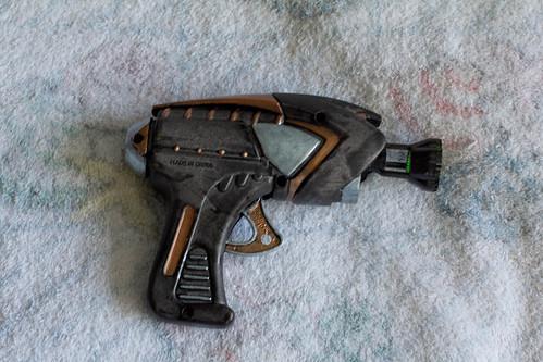 1st Steampunk Raygun
