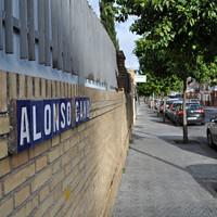 La calle Alonso Cano en Ciudad Jardín