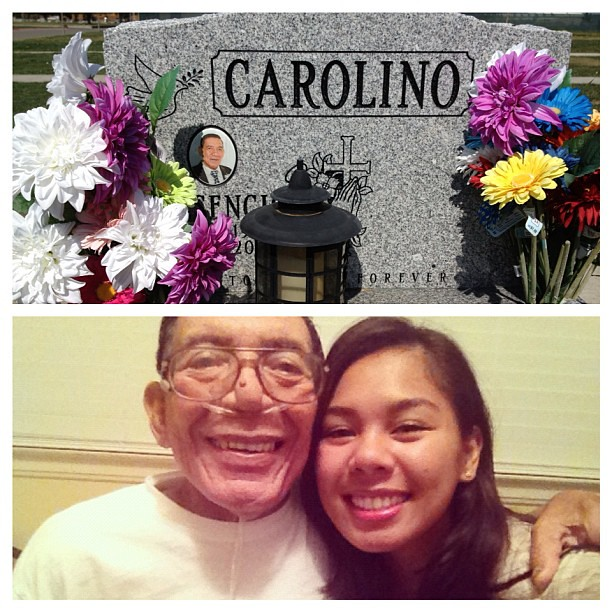 Sitting here with you reminiscing. I miss you so much Tatay. Still hurts to see you gone.
