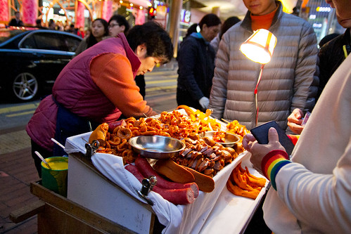 Street food by Langham Place