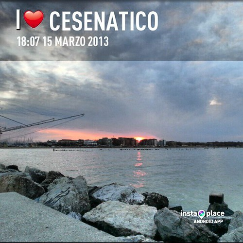 travel sea sky skyline sunrise square squareformat normal cesenatico iphoneography samsungs3 instagramapp uploaded:by=instagram foursquare:venue=4c4ee1739efabe9a6e02cf6a