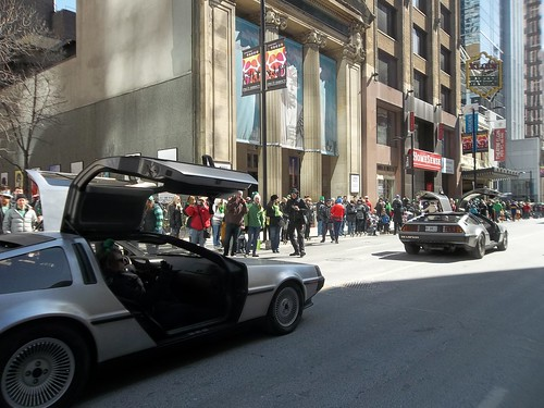 DeLoreans of St. Patrick's Day (3)