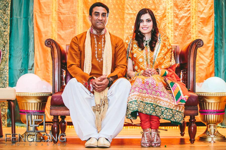 Yusra & Rahil's Mehndi | Fort Gordon Officer's Club | Augusta Pakistani Wedding Photography