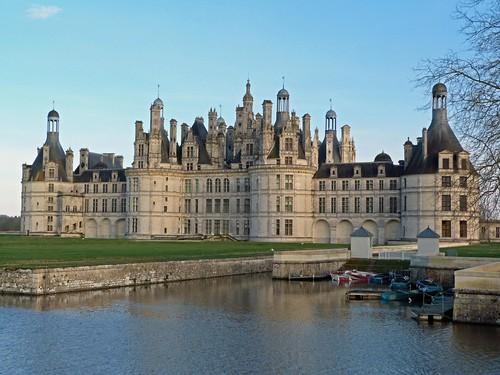 Imagen del Castillo de Chambord (Valle del Loira, Francia)
