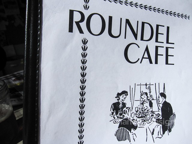 Roundel Cafe/The 1964 menu design is still in use!