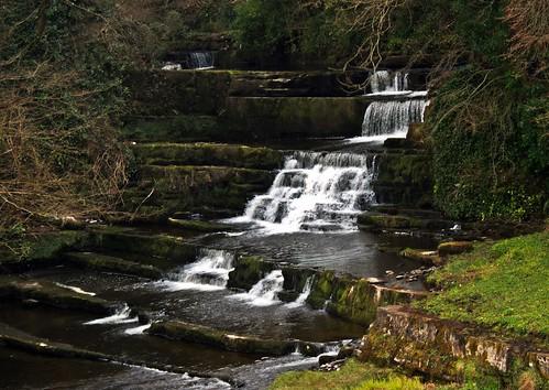 Falls on Dunneill river