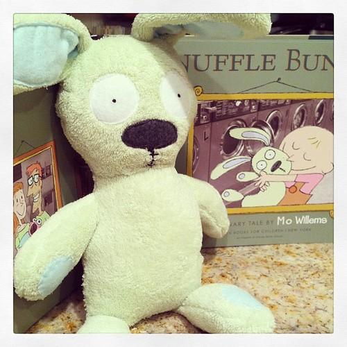 Hello Knuffle Bunny!