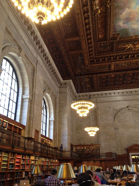 New York Public Library, 5th Ave.