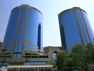 Dubai Rolex Twin Towers