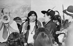 BIA Spokesperson at Trail of Broken Treaties Protest: 1972
