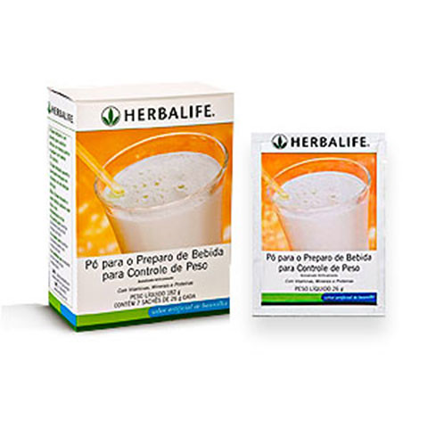 Shake Herbalife Baunilha Sachês