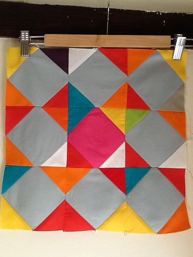 Simply Solids April Block