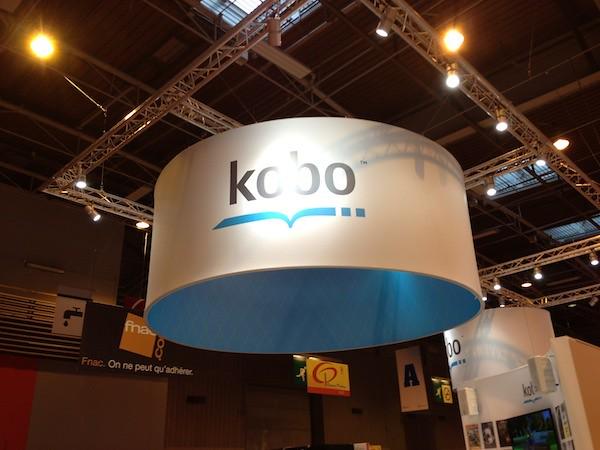 Stand Kobo au Salon du Livre de Paris 2013