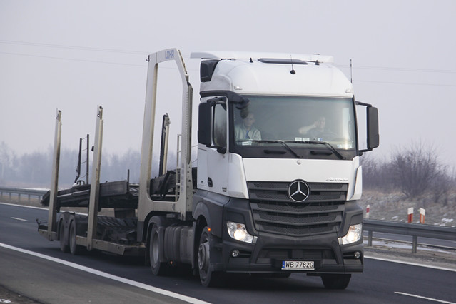 Mercedes-Benz New Actros MP4