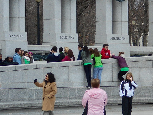 our team at the WWII memorial (2)