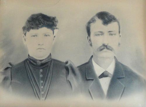 Charles Henry Eddlemon & Mary Jordan ca 1895