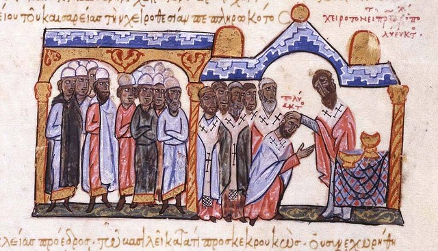 Consecration of Patriarch Polyeuctus of Constantinople in 956
