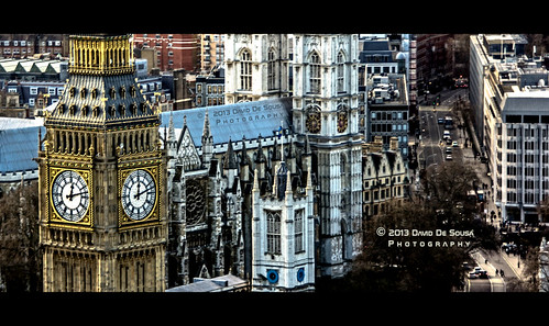 street uk england house london eye tower clock westminster europe traffic time sony perspective parliament bigben palace aerial level far elisabeth birdseyeview flyover blinkagain