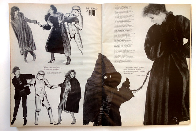 Star Wars Vogue 1977
